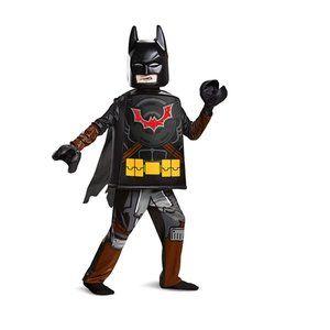 NEW Lego Batman Deluxe Kid's Halloween Costume